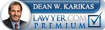 lawyer.com website premium badge of dean karikas